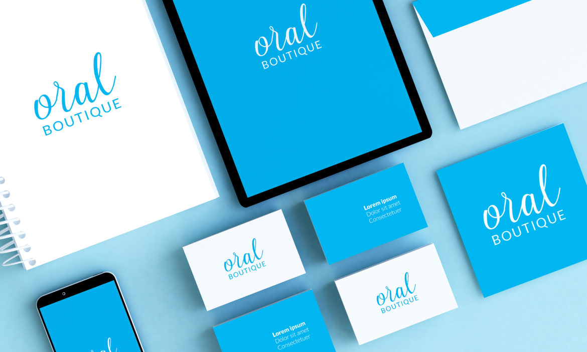 Brand identity Oral Boutique Blank Create 2018