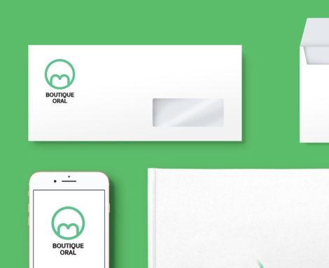 Brand identity Oral Boutique Blank Create 2018