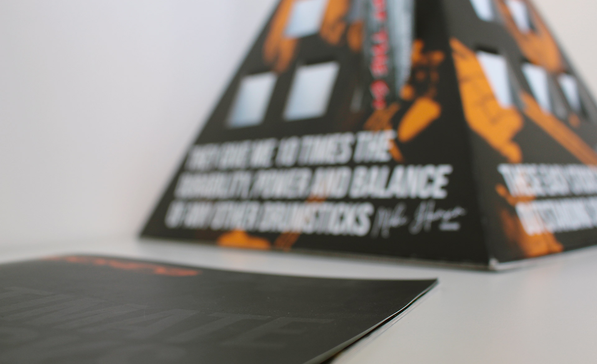 Techra Blank 2019 Work Brochure e Espositore