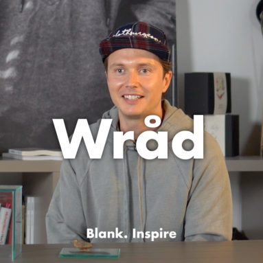 Blank. INTERVIEW - WRÅD: il #design del cambiamento