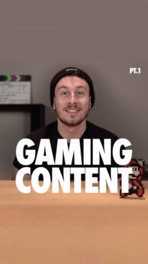 Blank. Tip La storia del content nei Videogames - part I