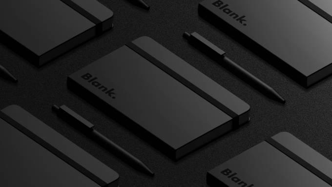 Blank. Notebook