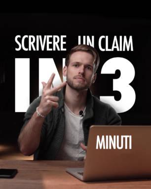 Blank. Tips - Come scrivere un claim in 3 minuti