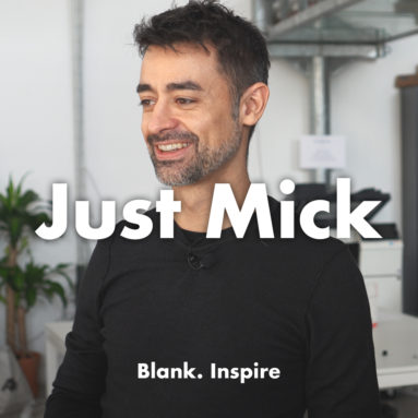 Blank. INTERVIEW - Le grandi idee nascono dalle stupidate - Mick Odelli (AKA @JustMick)