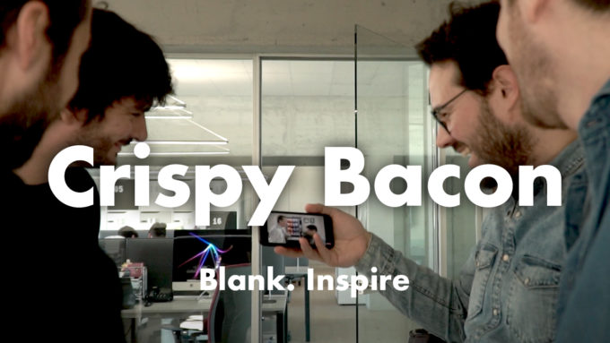Crispy Bacon - Quando l'innovazione si fa croccante. Blank. Inspire